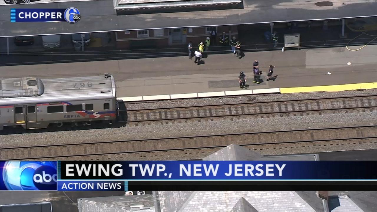 Person struck by SEPTA train in Ewing Twp., N.J.