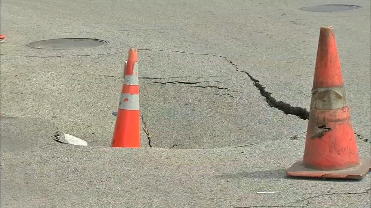 Seriously damaged roads causing problems in West Philadelphia