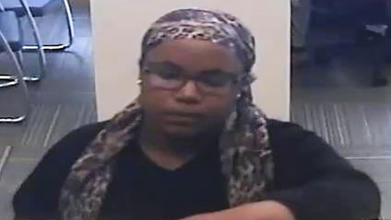 Woman sought in Center City bank robbery