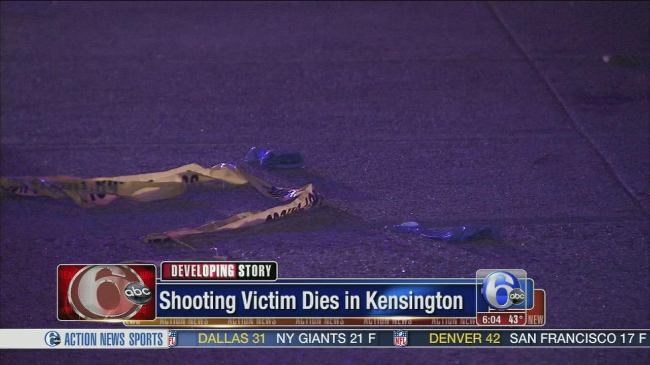 VIDEO: Shooting victim dies in Kensington