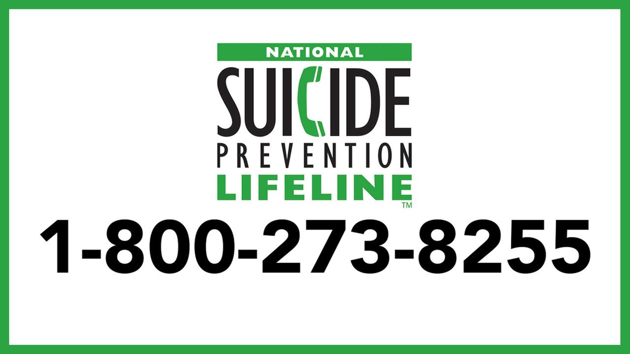 Suicide prevention information: Get help here