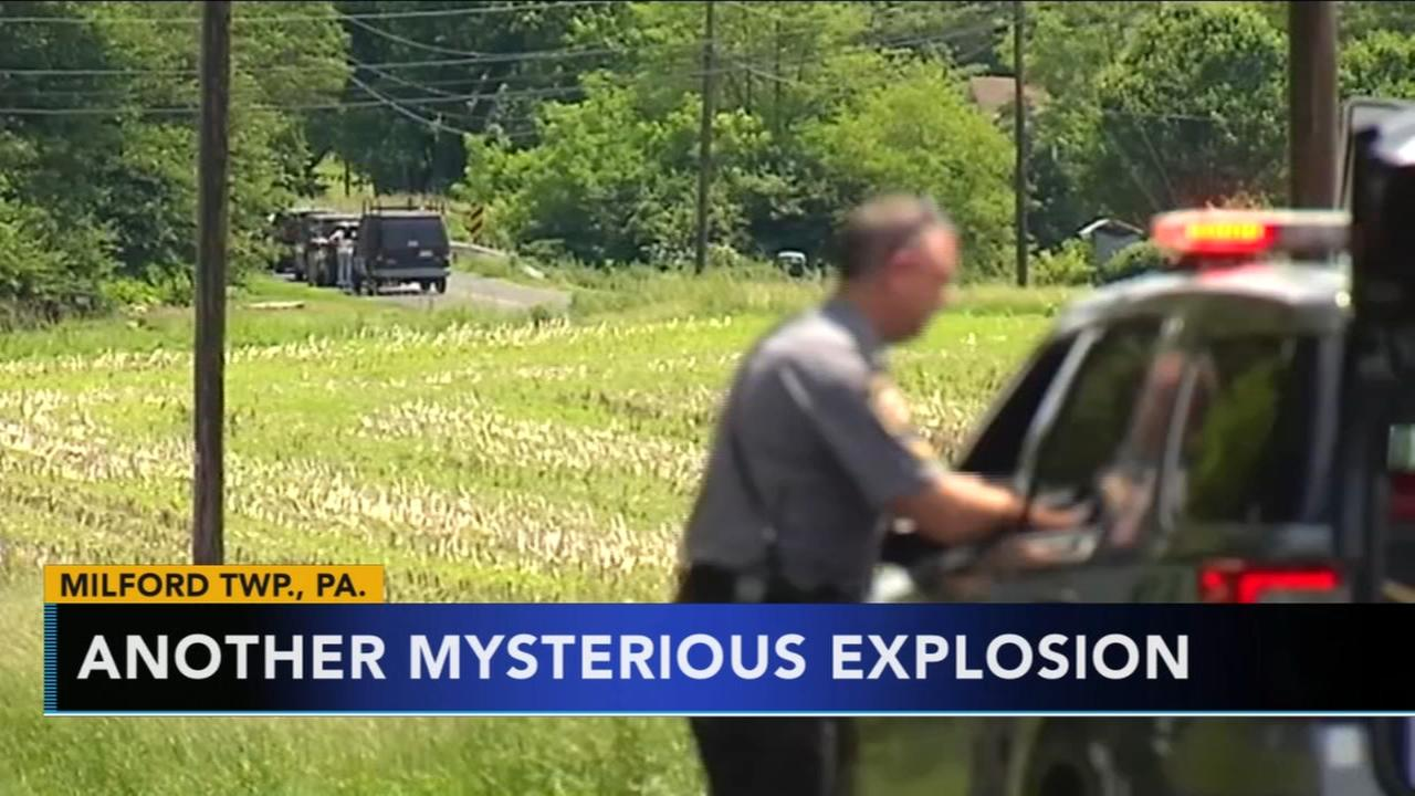 Another mystery explosion in Buck County