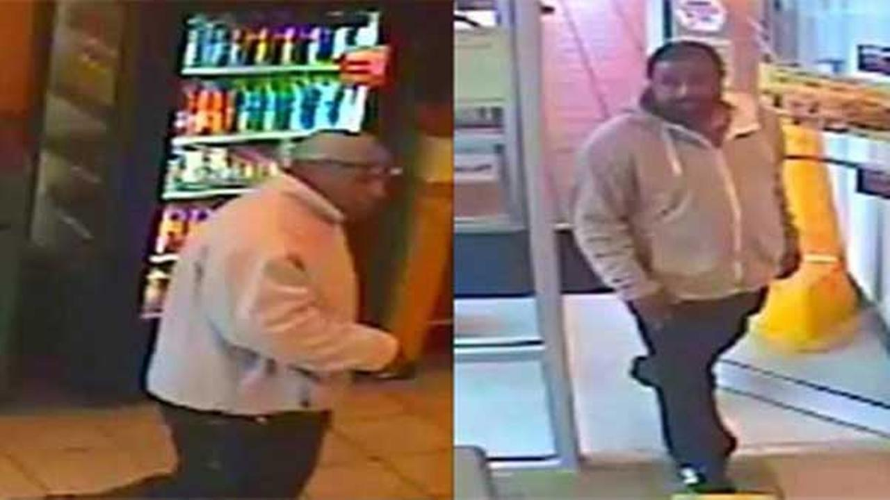 Philadelphia police are looking for a pair of suspects who robbed a restaurant at gunpoint  in the citys Wynnefield section.
