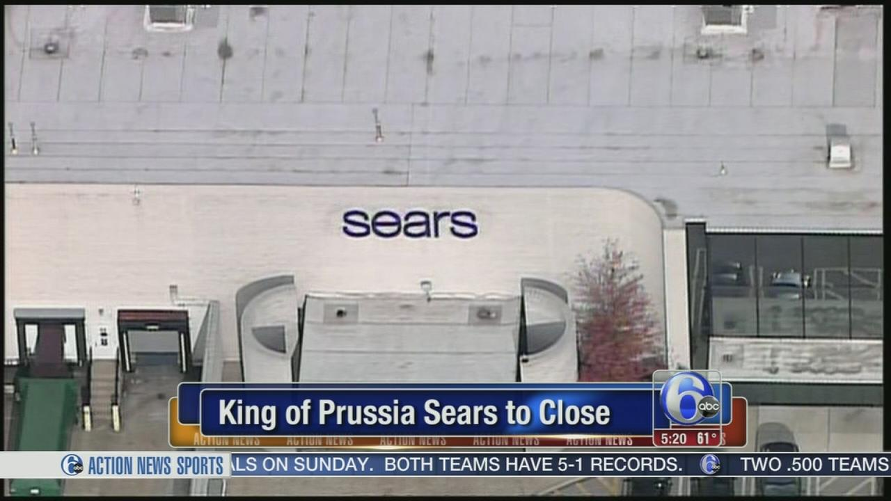 VIDEO: Sears at King of Prussia Mall to close
