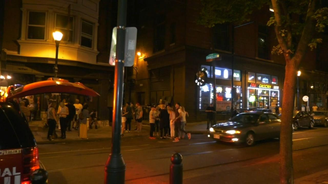 Man stabbed in Center City