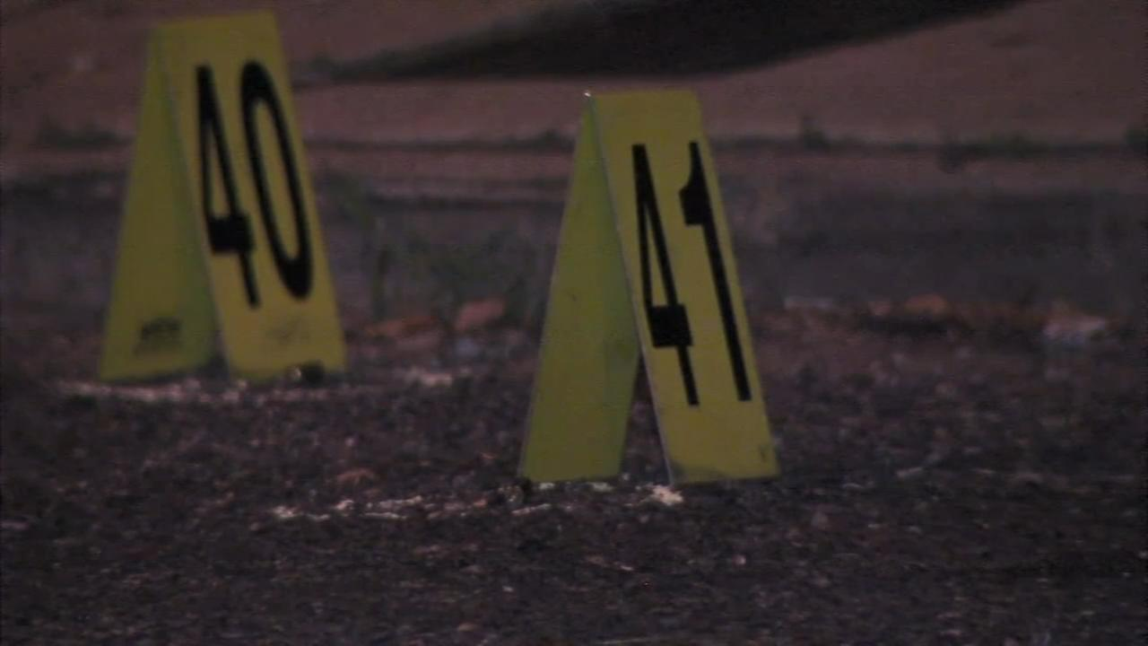 4 adults, 1 child injured after shots fired into crowd