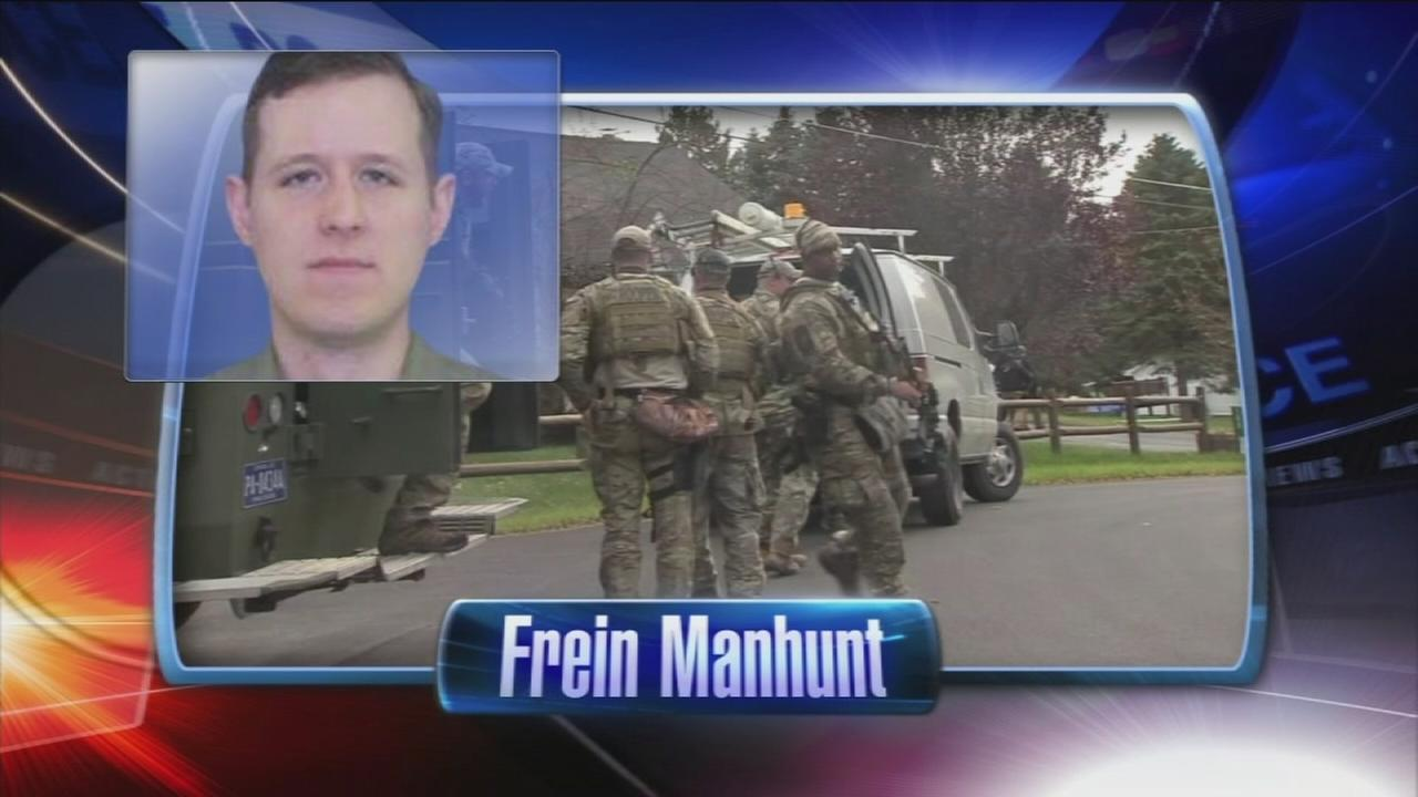 VIDEO: Manhunt intensifies for Eric Frein after possible sighting