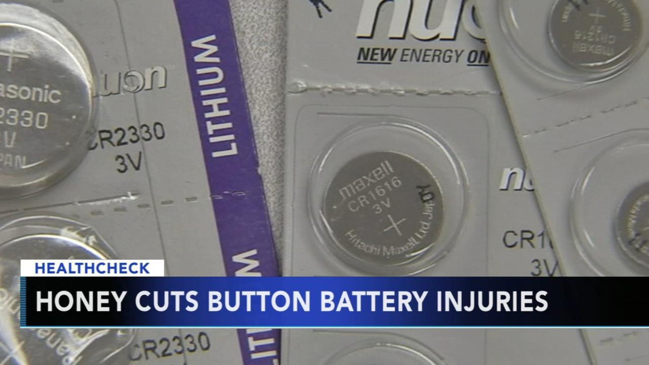 Honey cuts button battery injuries, researchers say