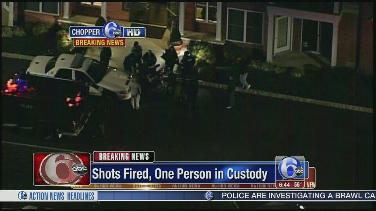 VIDEO: Suspect in custody in East Norriton