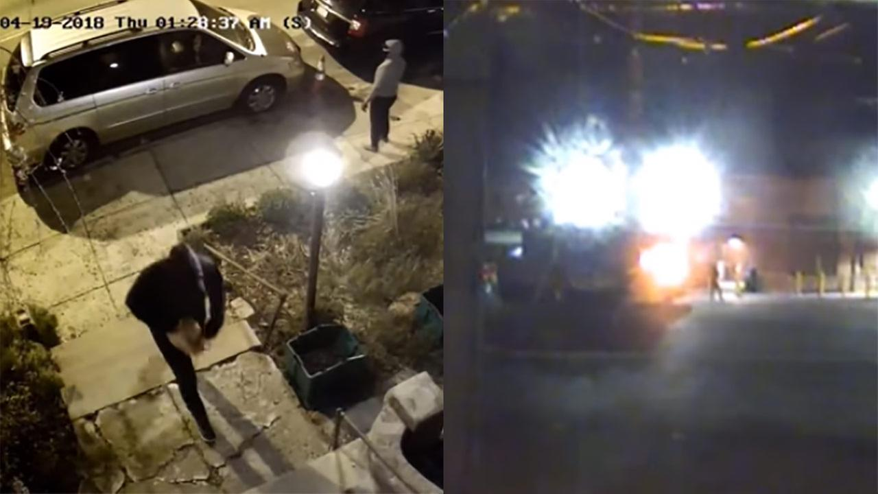 Police: Camera thieves may be responsible for West Philadelphia arson