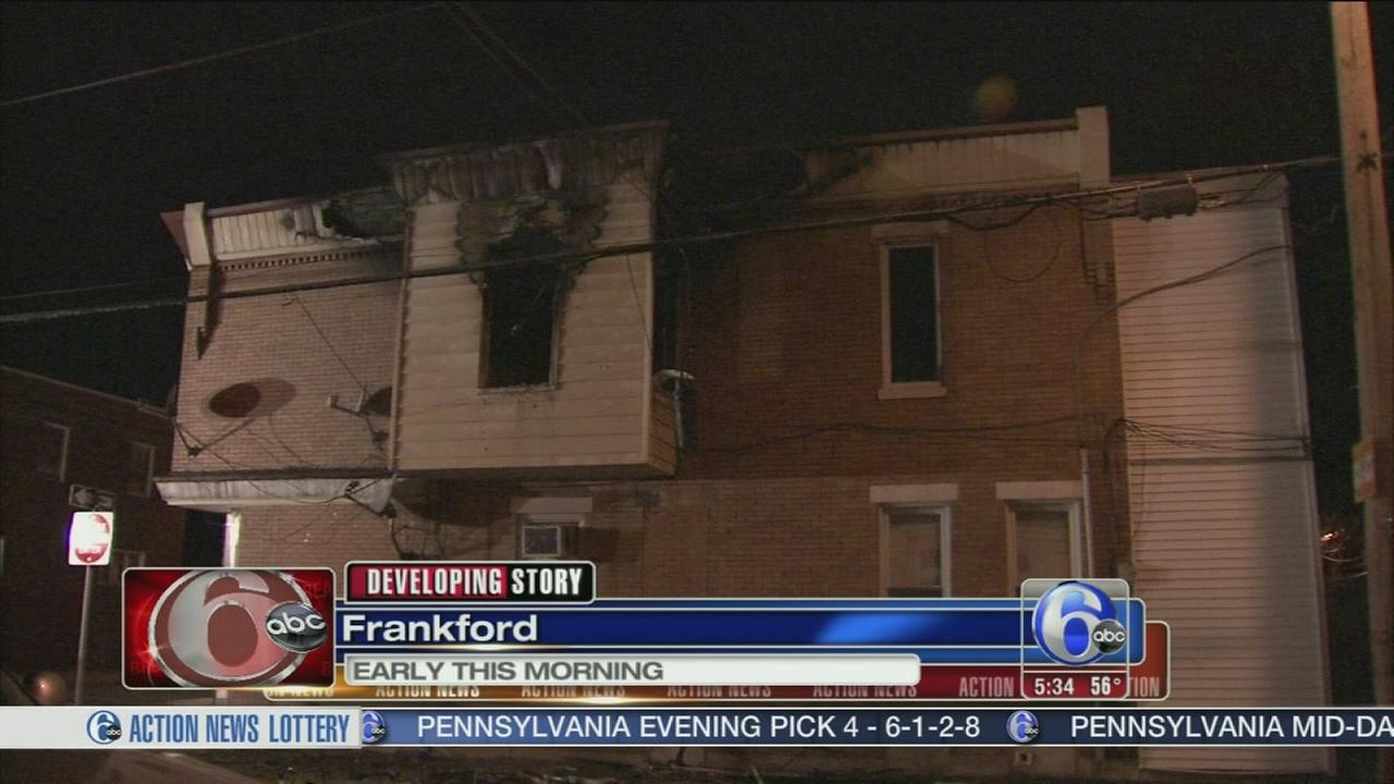 VIDEO: Fire damages residential building in Frankford