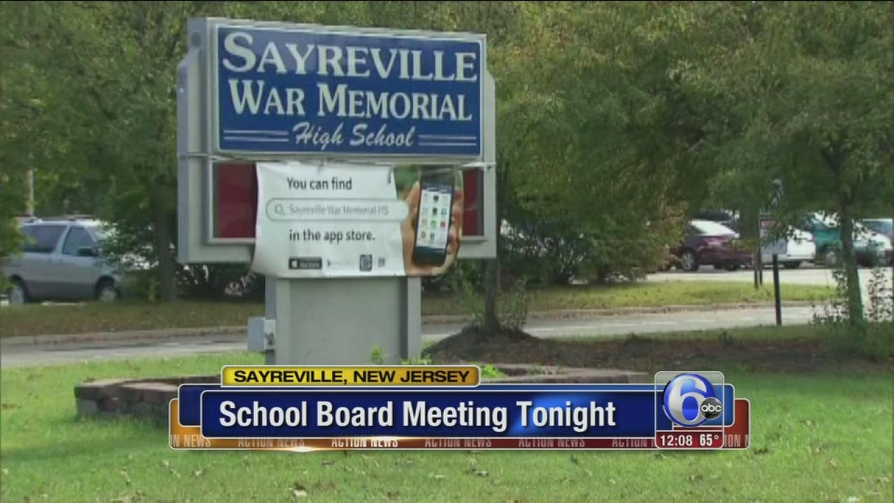 VIDEO: Meeting could decide fate of Sayreville coaches