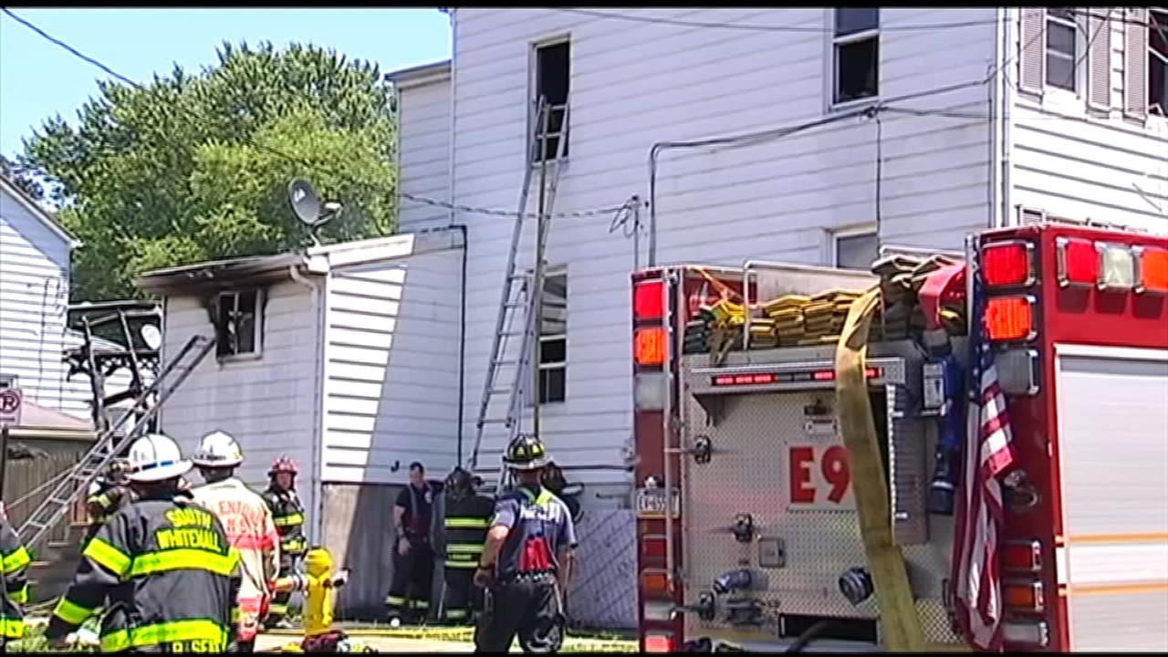 Woman trying to save cat dies in Allentown fire