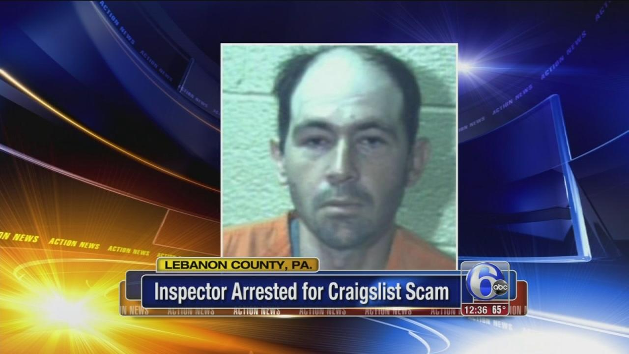 VIDEO: Pa. home inspector arrested for Craigslist scam