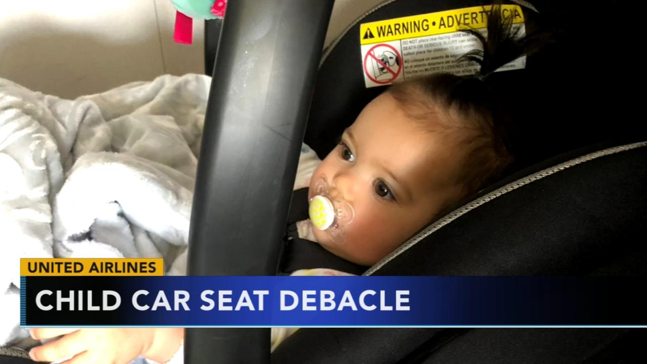 Mom Felt Forced To Place Child Wrong Way In Car Seat On United Flight