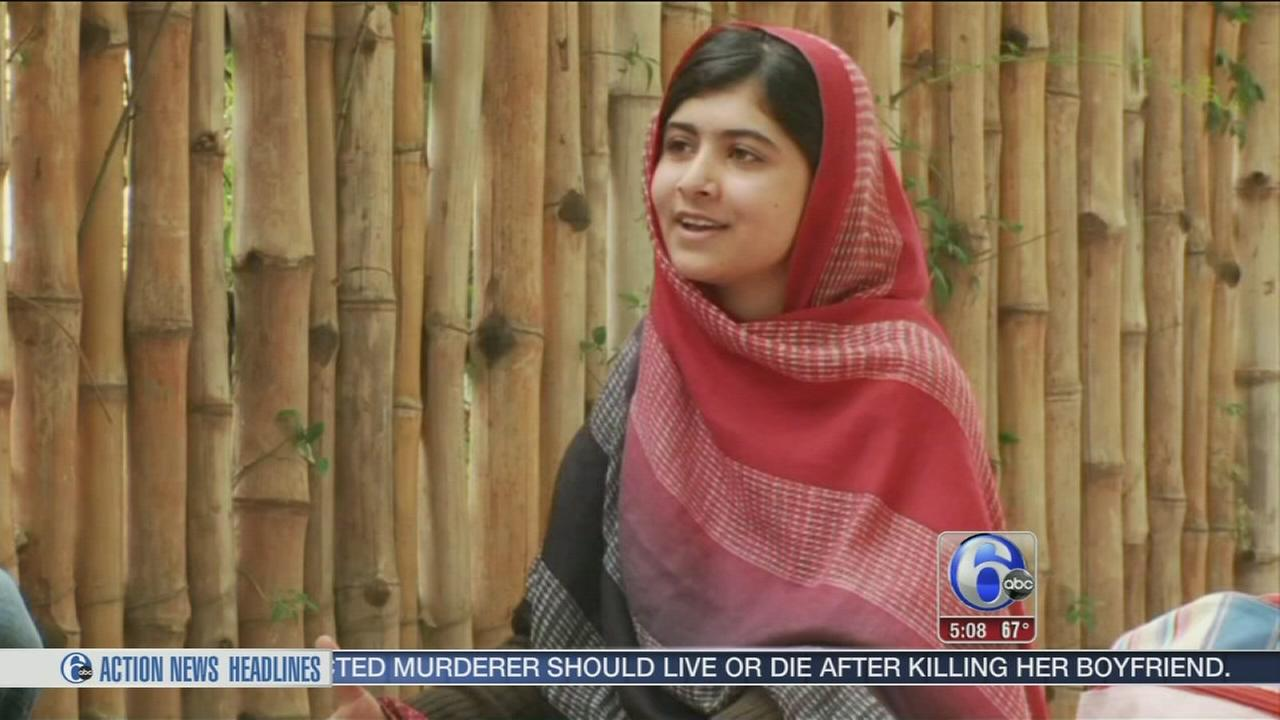 VIDEO: Malala to receive Liberty Medal