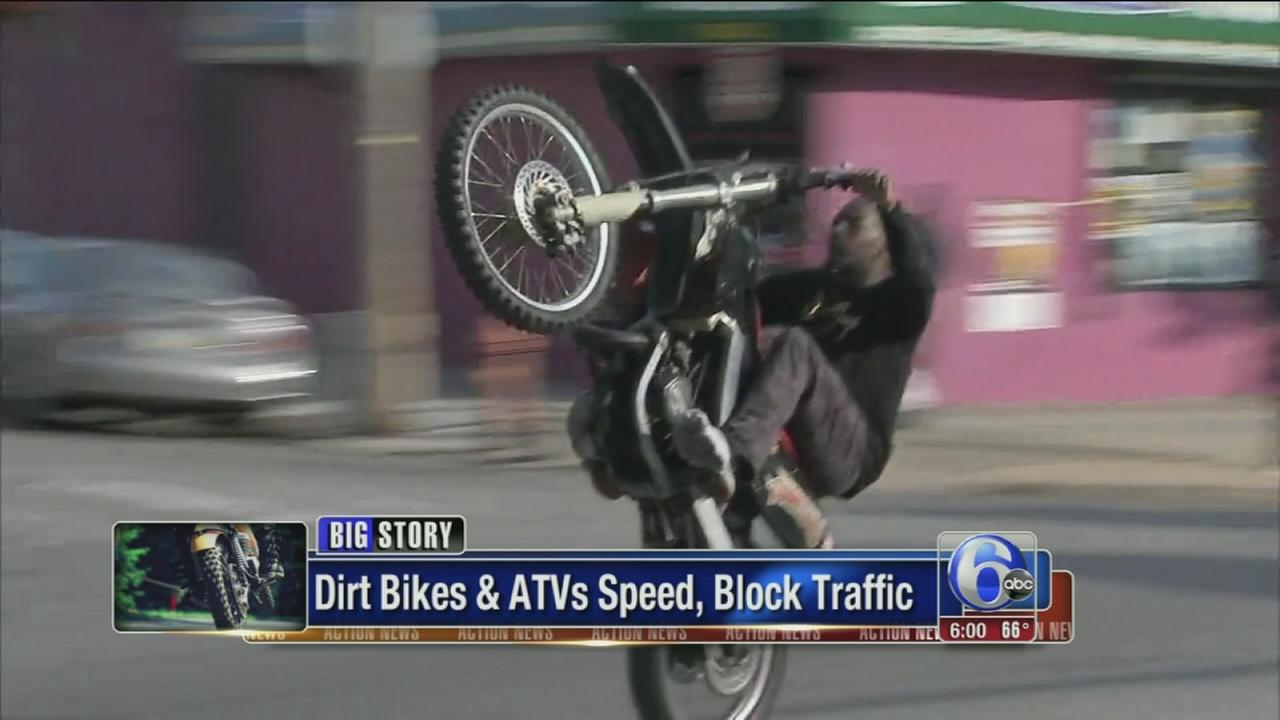 VIDEO: Dirt bikers wild ride through Philadelphia