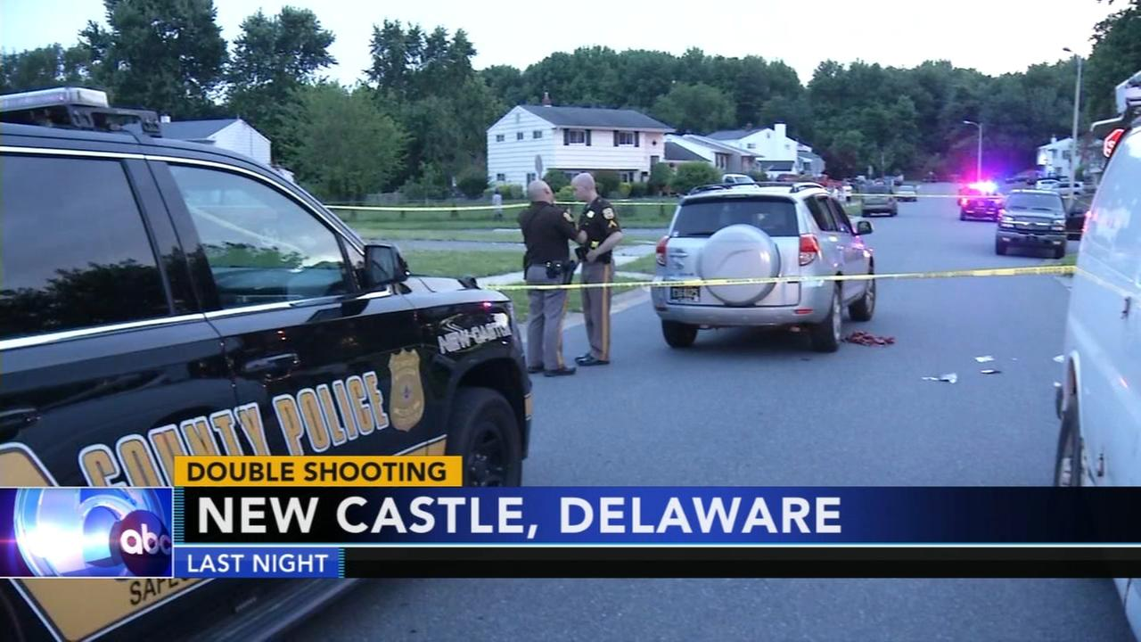 Double shooting in New Castle, Del.