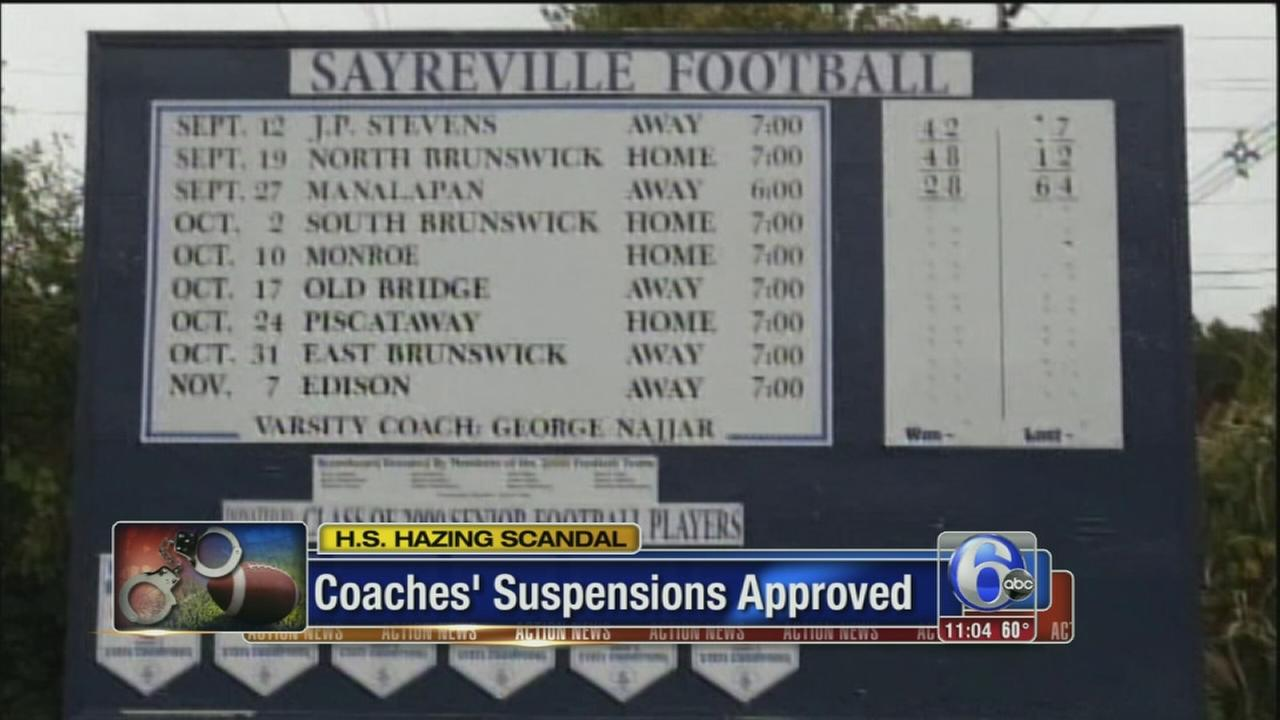 VIDEO: Coaches suspended