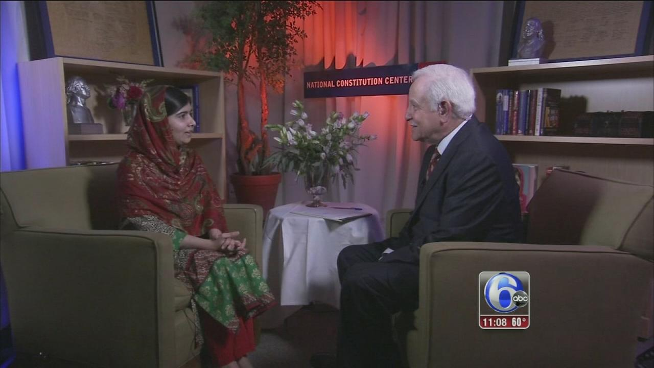 VIDEO: One-on-One with Malala preview