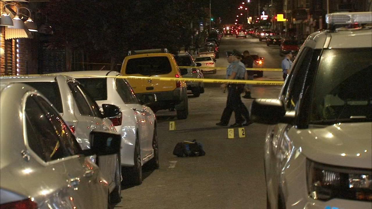 Drive-by shooting injures 2 in West Kensington