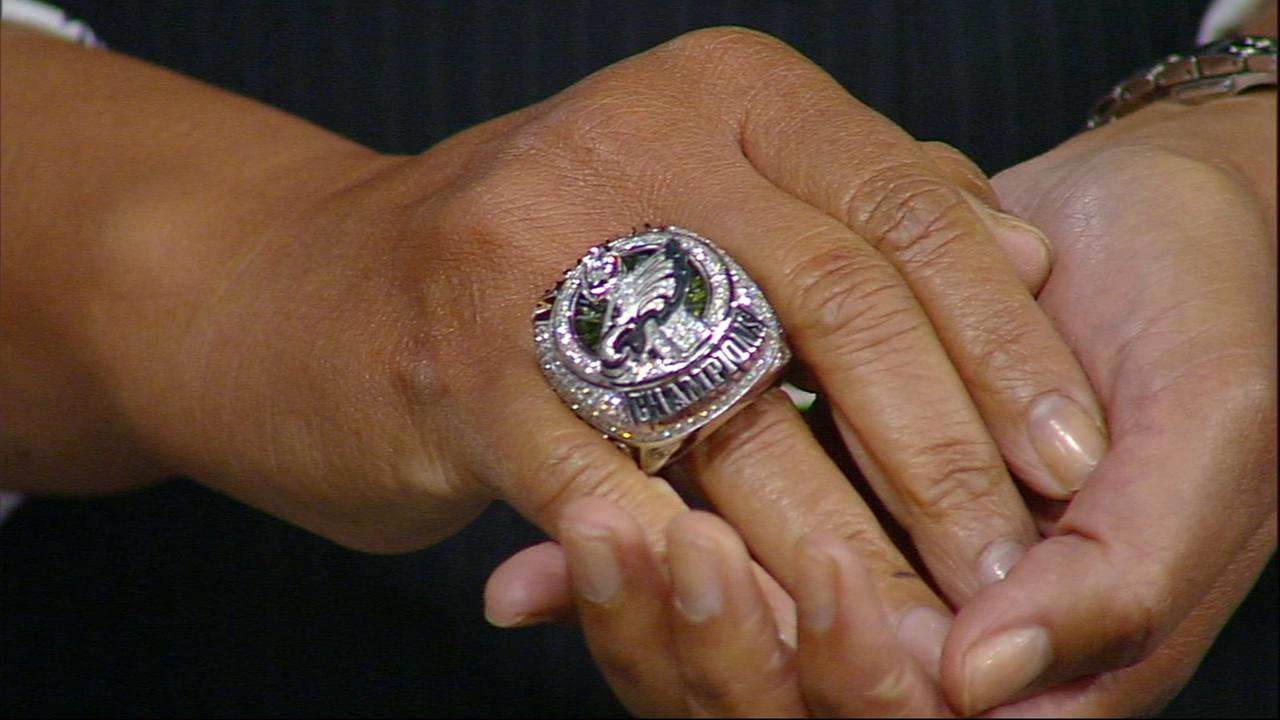 VIDEO: Super Bowl championship ring on Action News