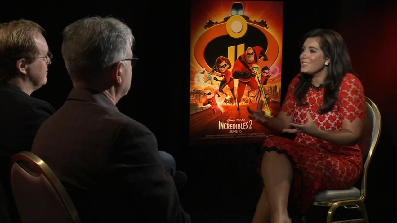 Alicia Vitarelli interviews the cast of Incredibles 2
