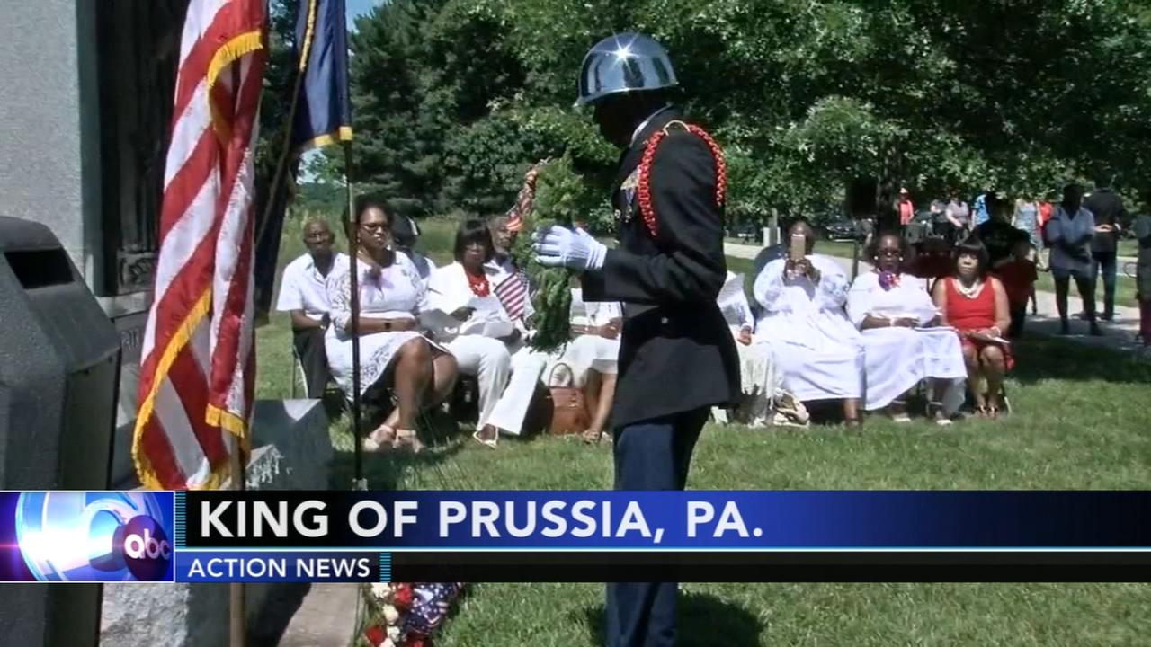 Black patriots honored in ceremony at Valley Forge Park