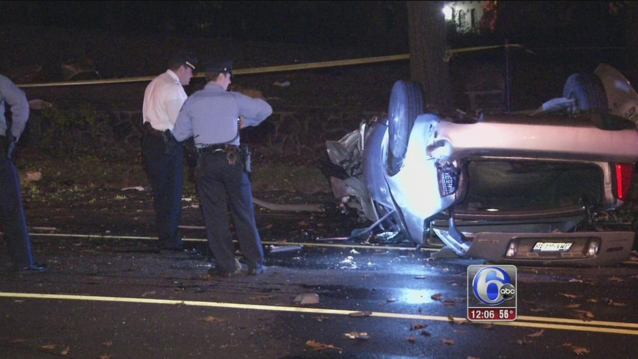 VIDEO: Violent crash kills driver, shuts down City Ave.
