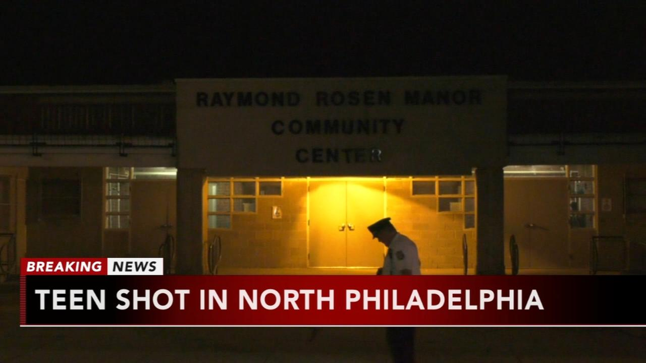 Teen shot in North Philadelphia