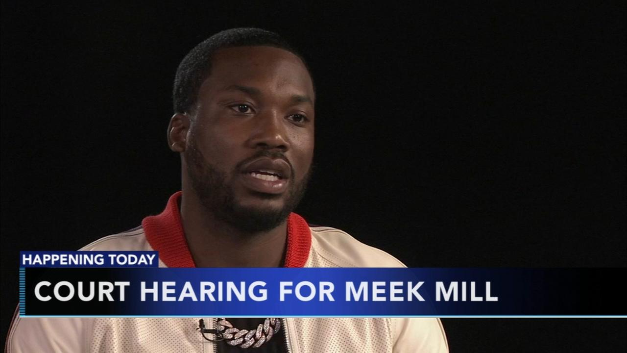 Court hearing for Meek Mill