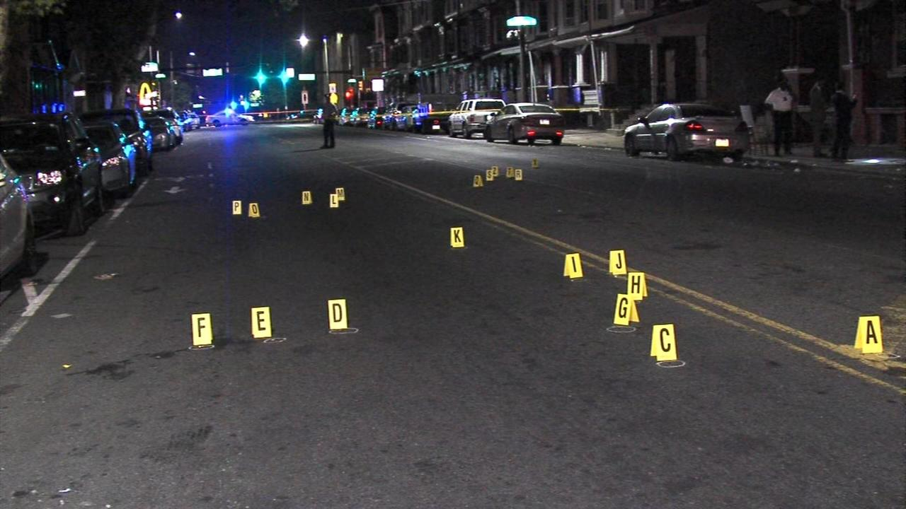Double shooting in North Philadelphia