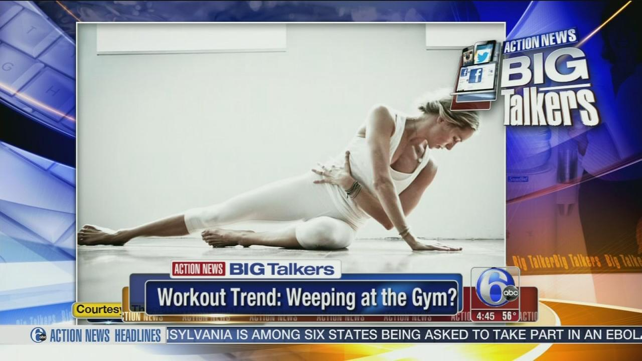 VIDEO: New workout trend includes crying