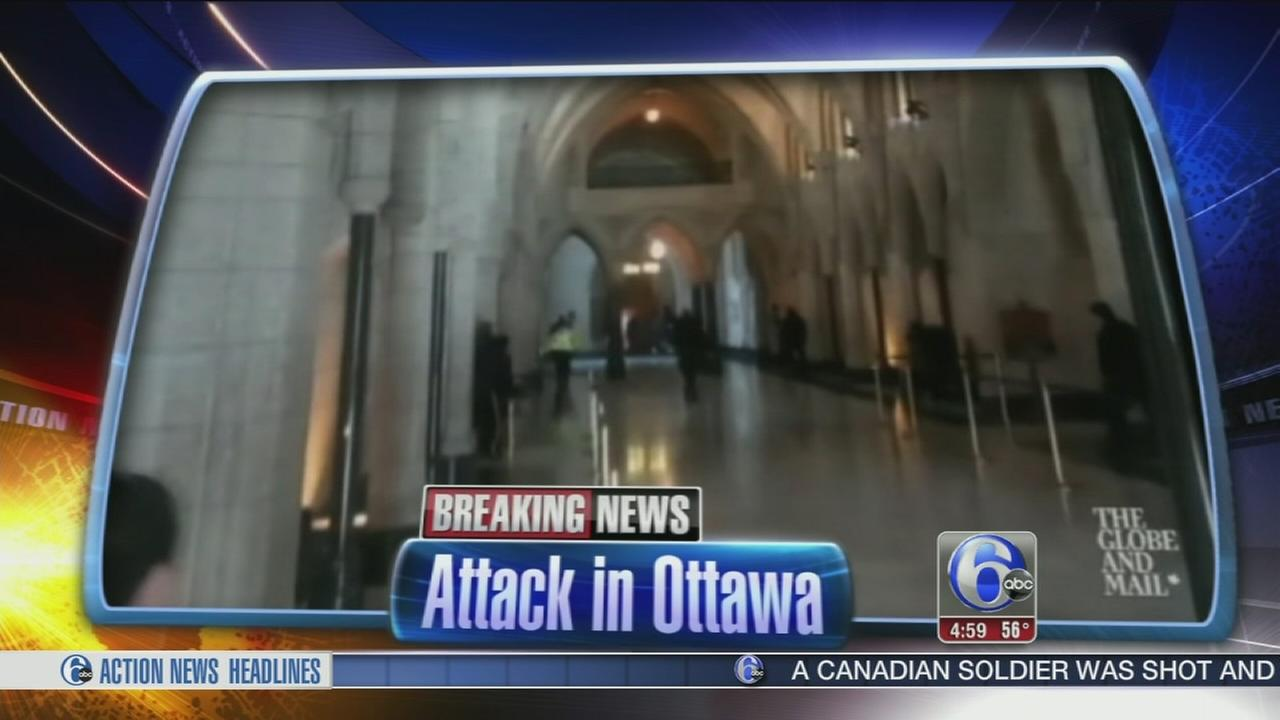 VIDEO: Sharrie Williams reports on the attacks in Ottawa