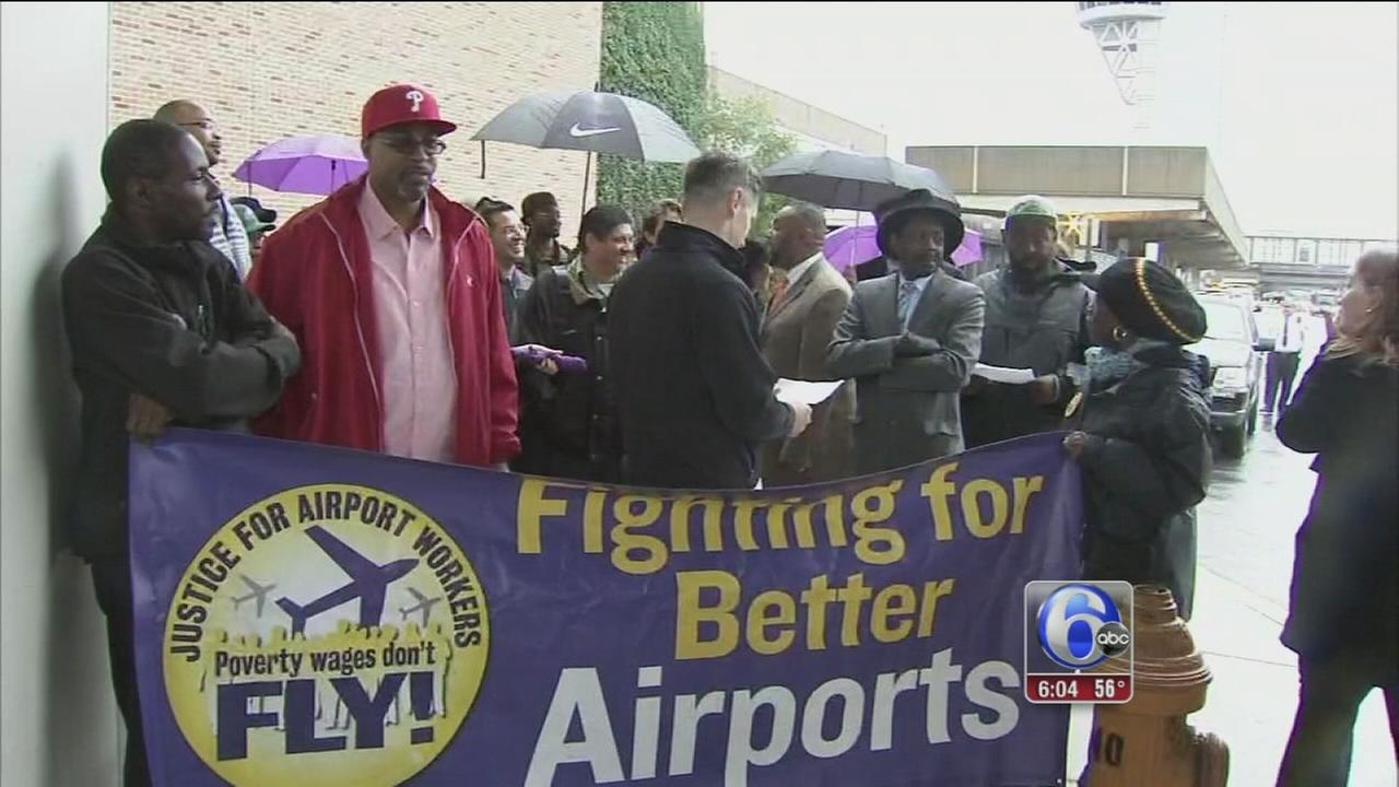 VIDEO: Airplane cleaners at Phila. Intl concerned over Ebola