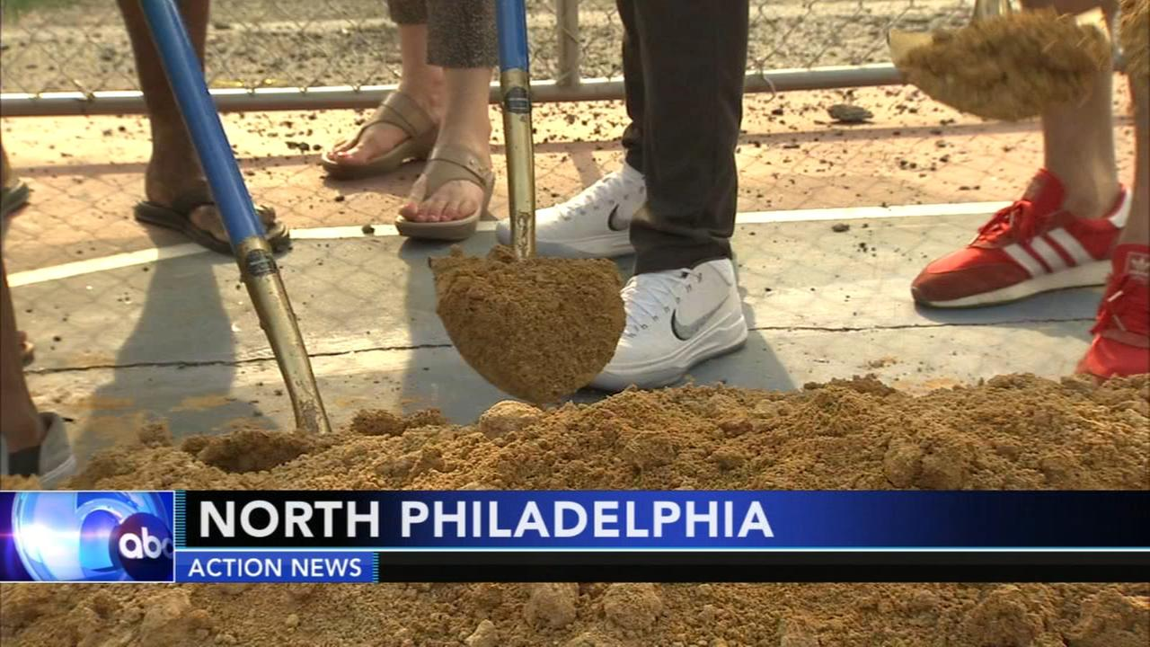 North Philadelphia playground gets major upgrade