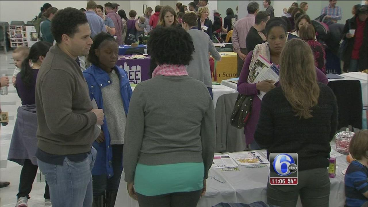 VIDEO: 3rd annual school fair held at Franklin Institute