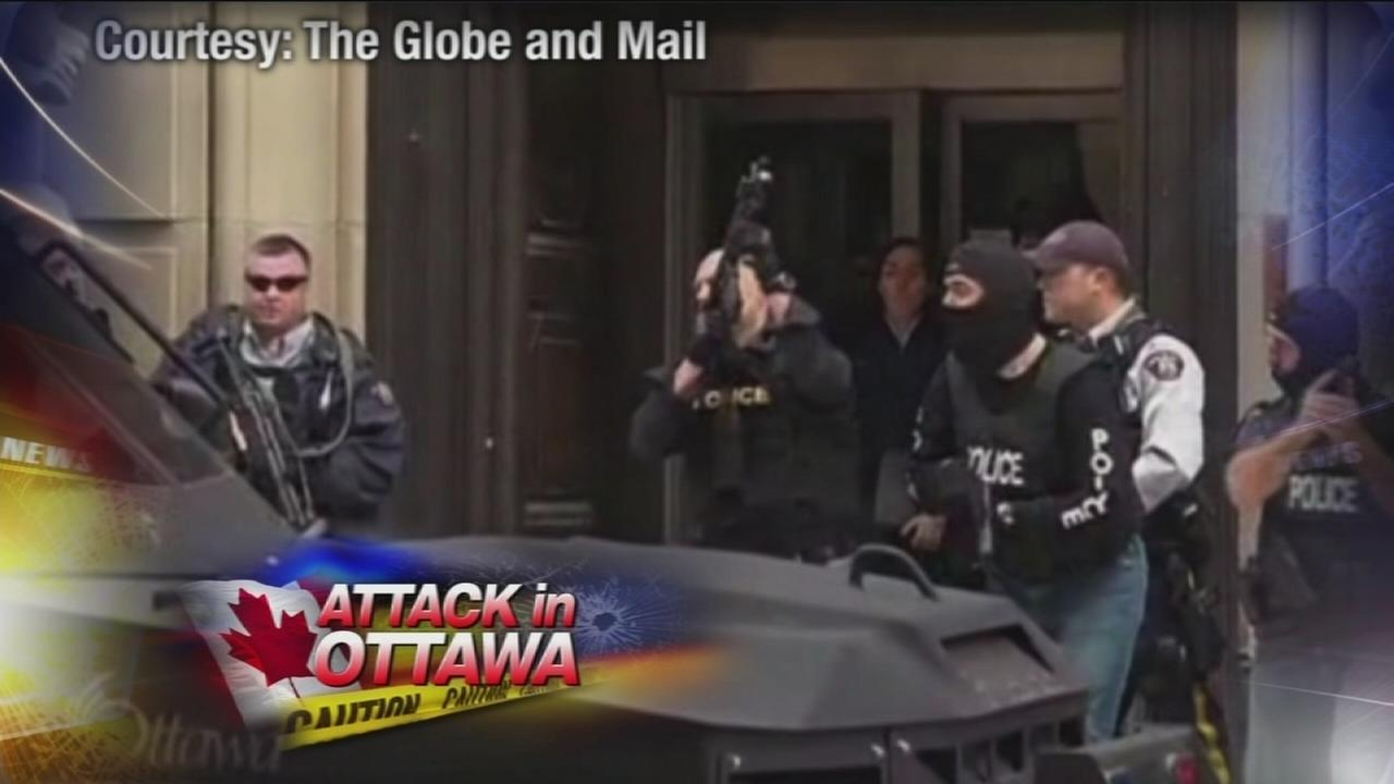VIDEO: 2 dead in attack at Canadas Parliament