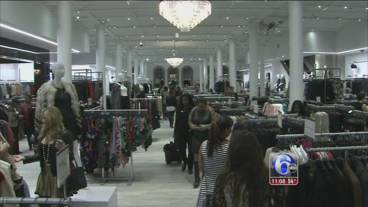 VIDEO: Sneak peek at new Century 21 store in Center City