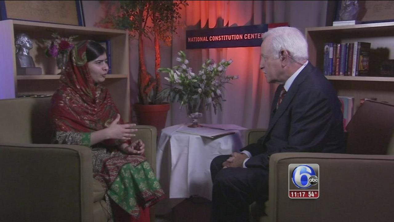 VIDEO: Jim Gardner One-on-One with Malala Yousafzai