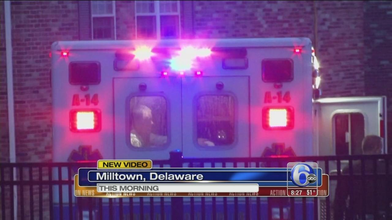 VIDEO: Girl rescued from kitchen fire in Del.