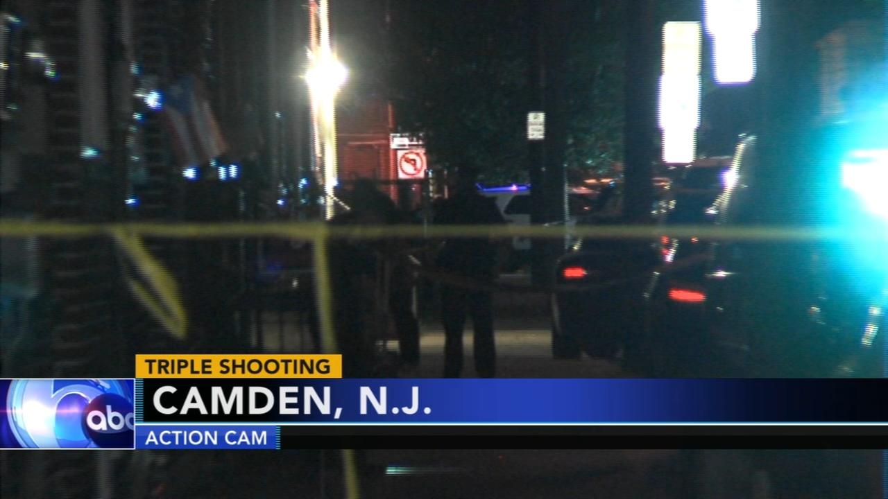 Triple shooting in Camden