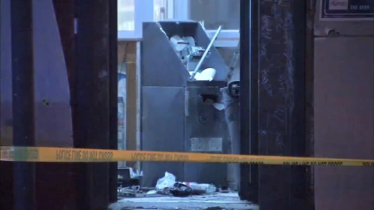 ATM explosion in Port Richmond