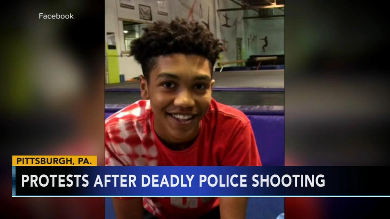 Protests after deadly police shooting