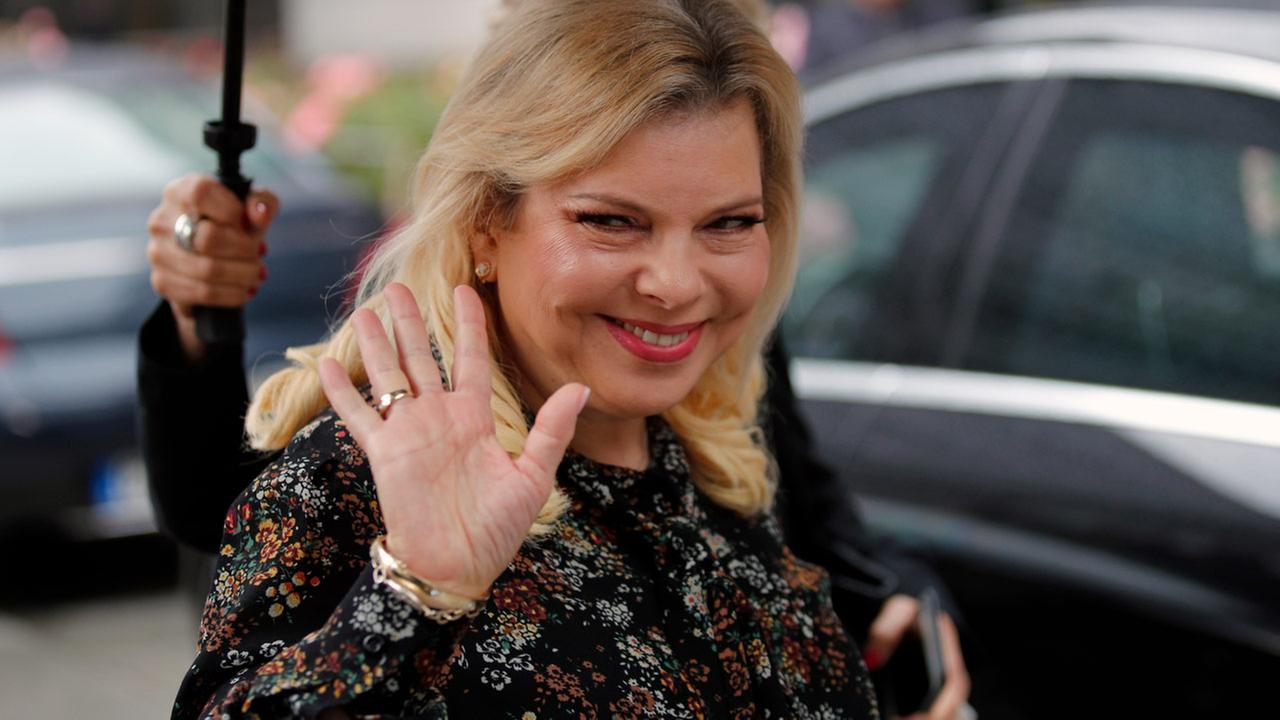 Sara Netanyahu, wife of Israeli PM, charged with fraud