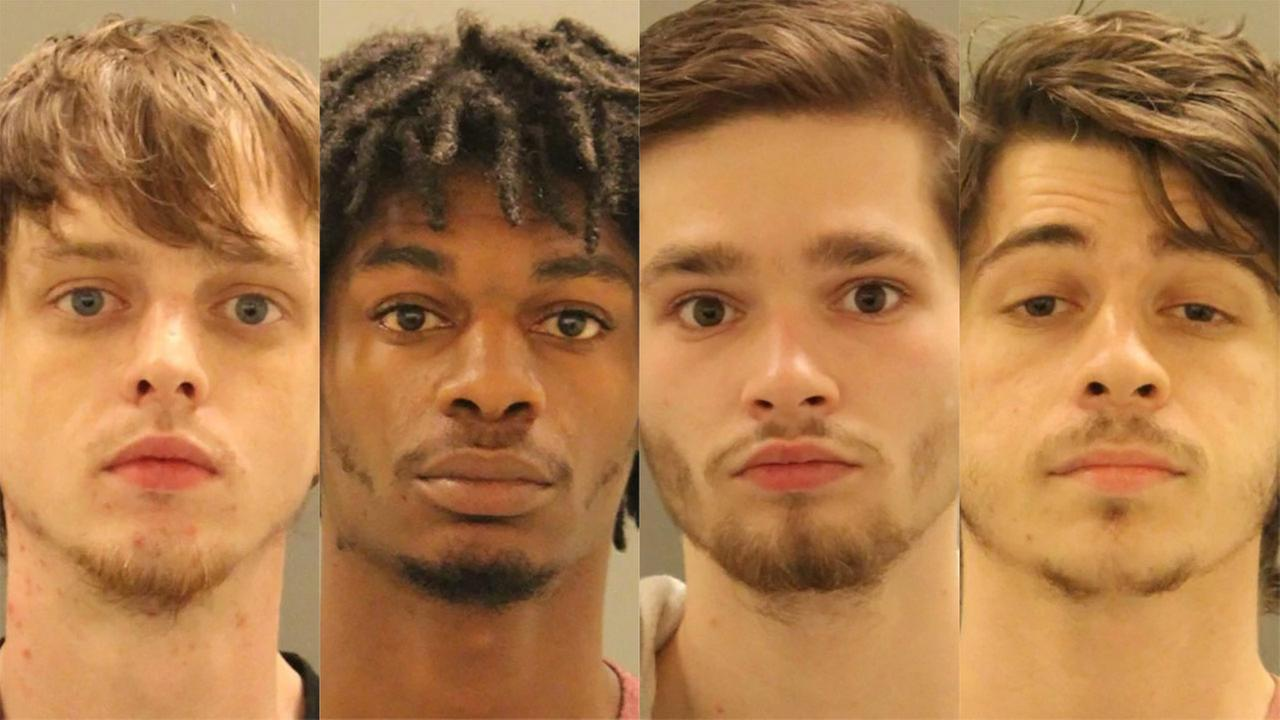 4 Maryland men arrested in New Castle double shooting