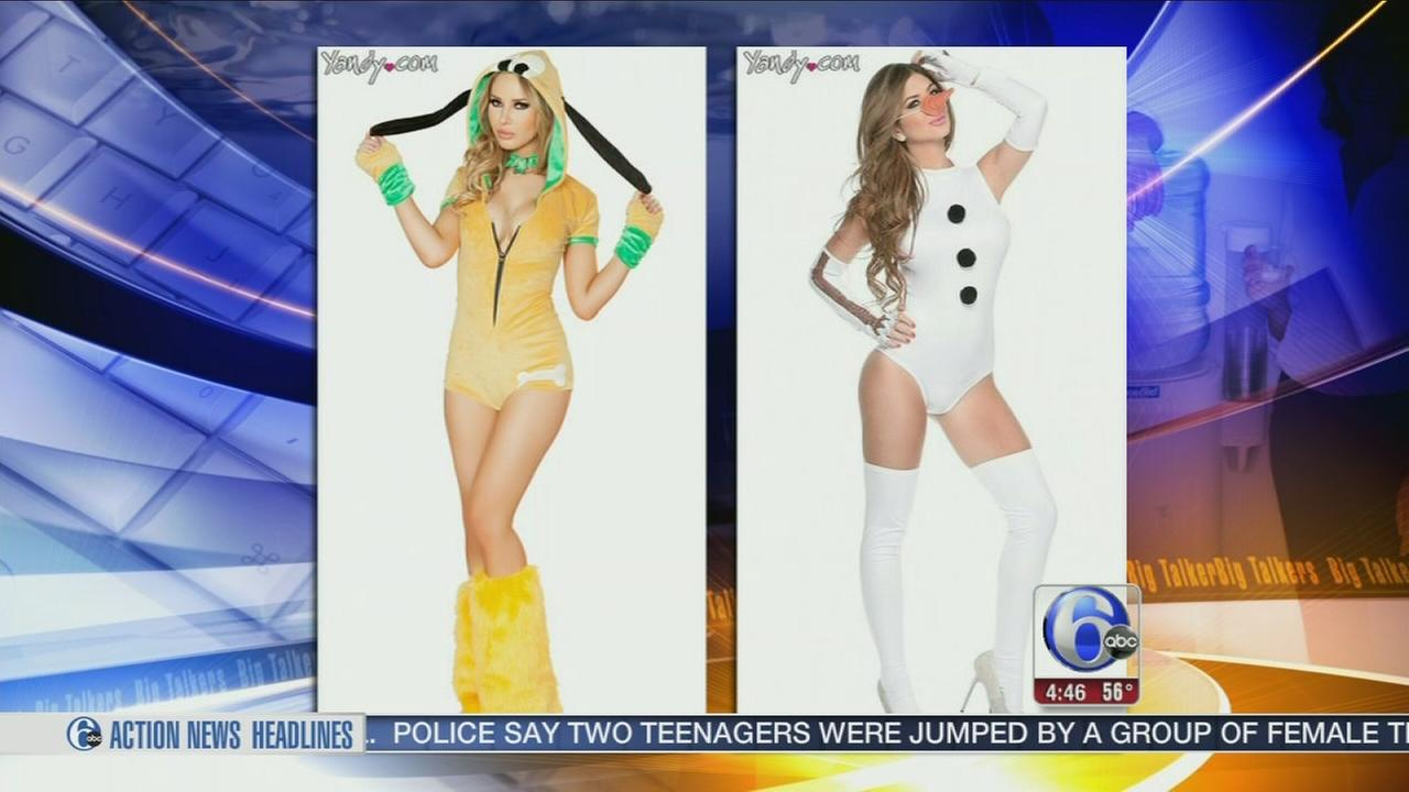 VIDEO: Nonseneical sexy Halloween costumes