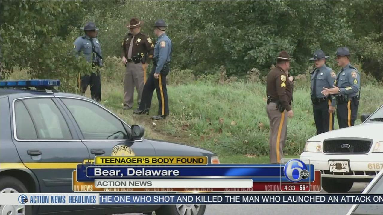VIDEO: Body of 19-year-old found in Bear, Del.