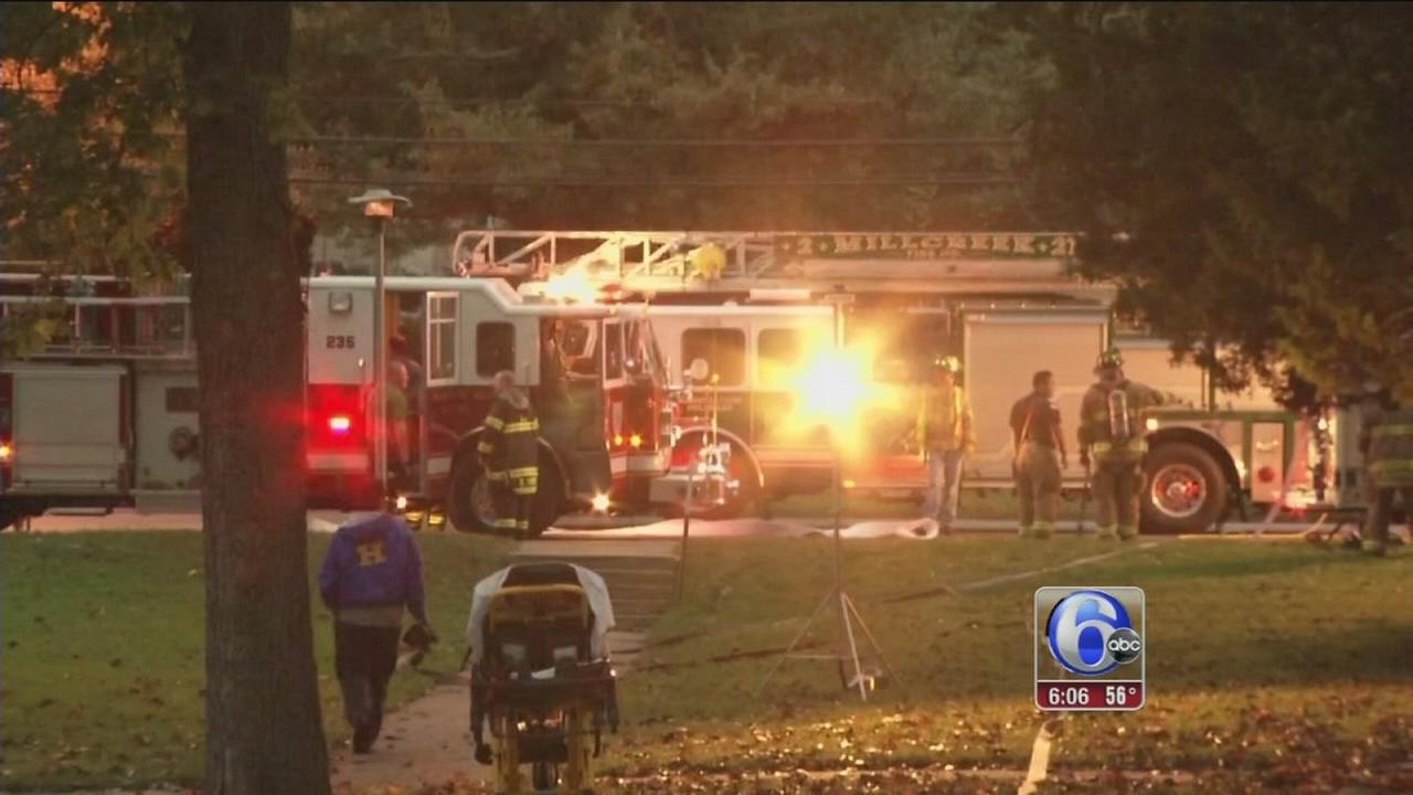 VIDEO: Girl, 8, rescued from apartment fire