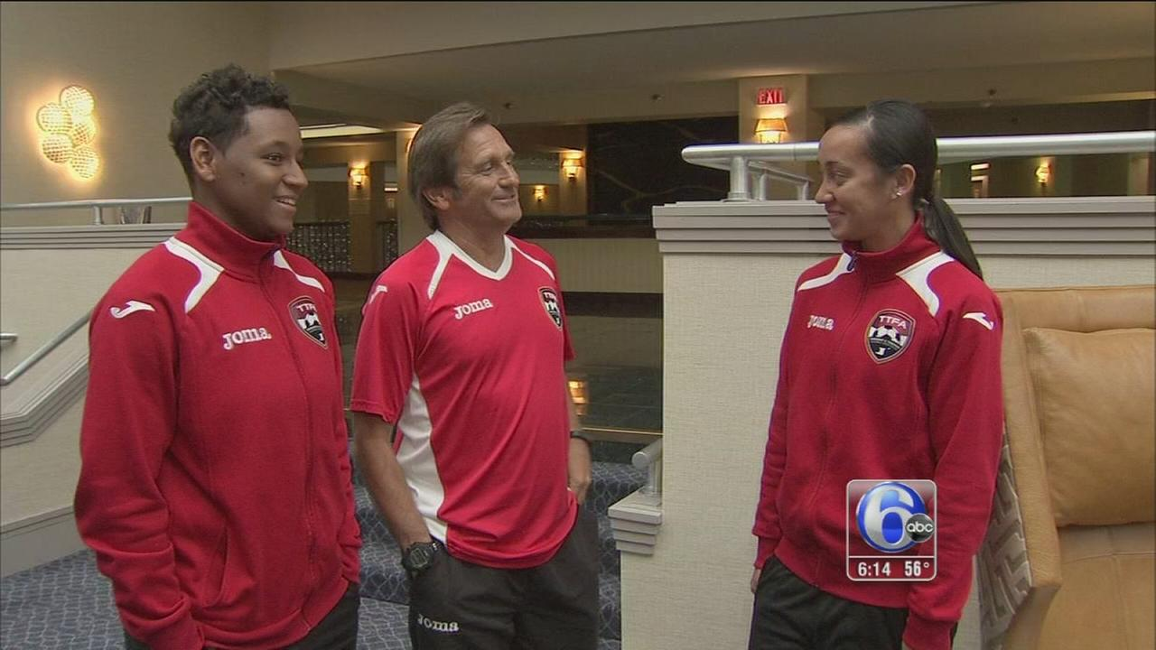 VIDEO: Donations bring Trinidad and Tobago to Womens World Cup qualifiers